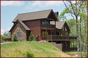 Laurel Glen rental cabin located near Pigeon Forge and Gatlinburg, TN in wears vally